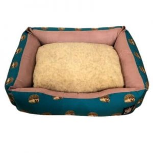 Hedgehog Print Sofa Bed For Dogs (Small)