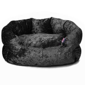Bunty Bellagio Bed - Black, Black / Small