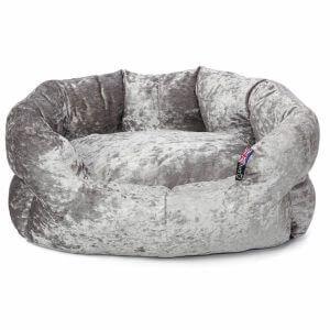 Bunty Bellagio Crushed Velvet Dog Bed, Small