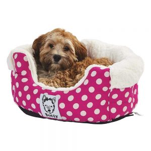 Bunty Deep Dream Bed, Pink / Small