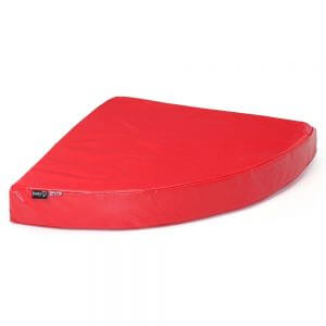Bunty Outback Hard-Wearing Corner Bed, Red / Extra Small