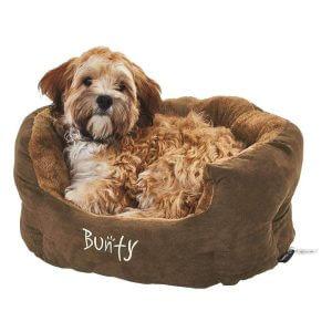 Bunty Polar Bed, Brown / Small