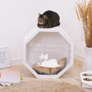 Cat Furniture, House, Bed, Indoor House For Cat, Gifts, Toys, Cave, Lover Gift, Housewarming Gift Owner