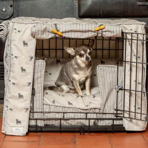 Cosmopolitan Dog Crate, Cover & Cushion - Available in 4 Sizes 3 Crate Colours