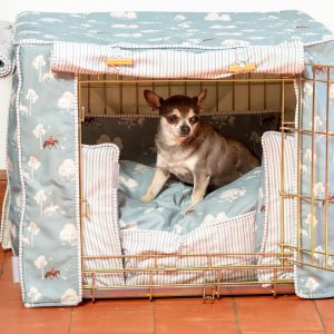 Country Park Dog Crate, Cover & Cushion Set - Available in 4 Sizes 3 Crate Colours