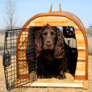 Custom Cedar Strip Dog | Or Critter Crates