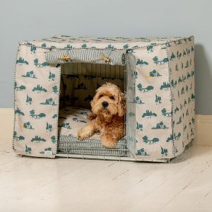 Dog Crate, Cover & Cushion Set in Central Park