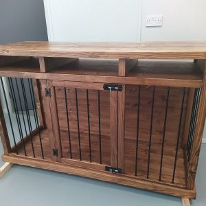 Dog Crate, Kennel, House, Wood Furniture, Kennel Pet Crate Furniture