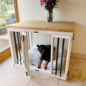 Handmade Wooden Dog Crate, Crate Furniture