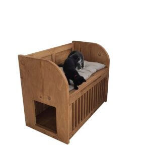 Indoor Cat House/Cat Bed/Litter Tray Storage | Can Be Made To Any Size