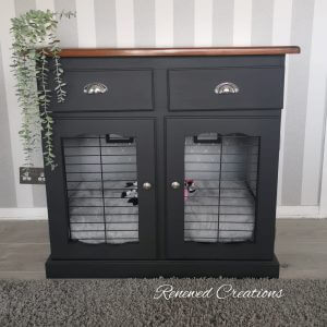 Luxury Dog Crate, Bed Furniture, Handmade Bed. Cage. Puppy Crate. Sideboard. Rabbit Furniture