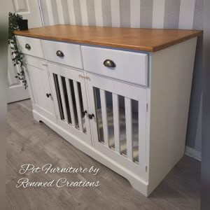 Luxury Dog Crate, Bespoke Cage, Puppy Handmade Bed, Bed Furniture, Sideboard