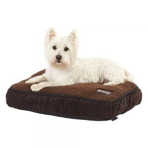 Snooze Fleece Dog Pet Bed, Small
