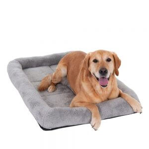 Snuggle Cushion for Dog Carriers and Crates - Grey - Size S: 64 x 55 x 10 cm (L x W x H)
