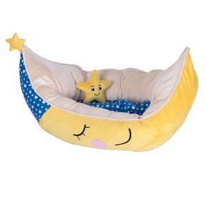 Snuggle Dog Bed Moon - 70 x 45 x 30 cm (L x W x H)