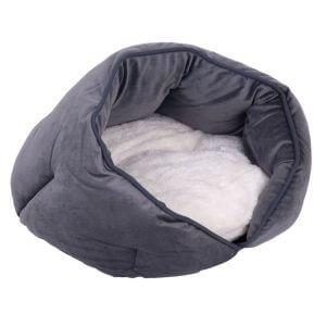 Tabby Cuddle Dog Bed - Diameter 48 x H 22cm