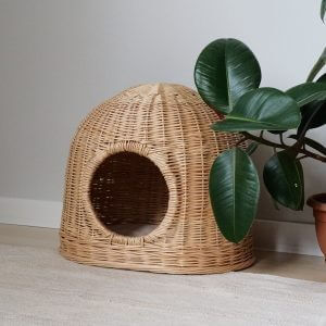 Vine Cat Bed - Cat Furniture House Pet Wicker For Pets Handmade Cats Eco Natural