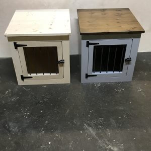 Wooden Dog Crate, Crate Furniture, Sideboard