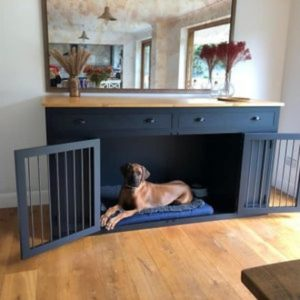 Wooden Dog Crate, Crate Furniture, Sideboard, Furniture With Drawers