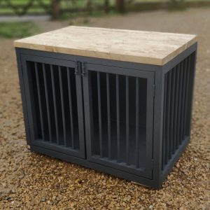Wooden Dog Crates & Crate Furniture