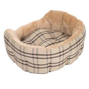 zoolove Sweet Home Snuggle Bed - 55 x 45 x 21 cm (L x W x H)